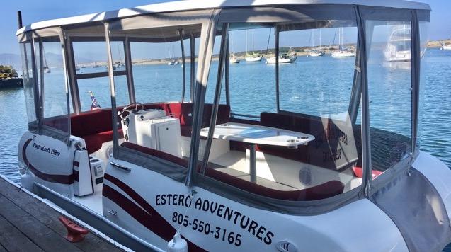Estero Adventures - Pontoon Boat