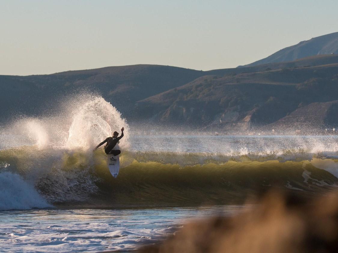 SURFS UP IN MORRO BAY